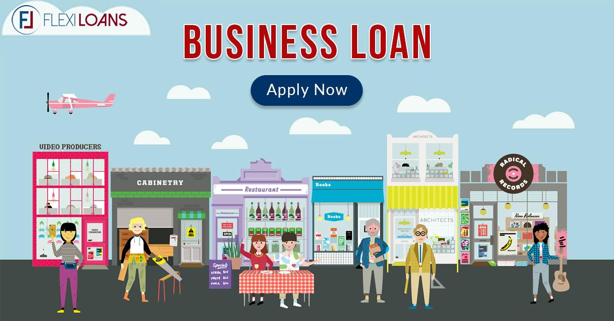 Flexi Business Loan Online India - Apply Fast Disbursal, Flexible
