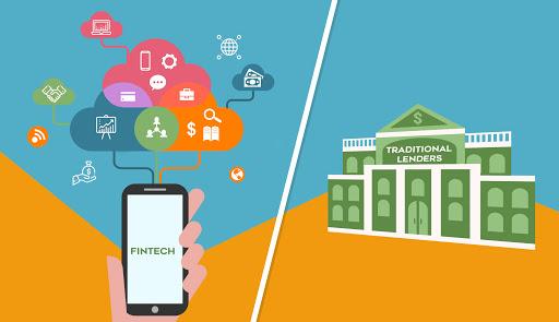 Fintech vis a vis traditional lenders