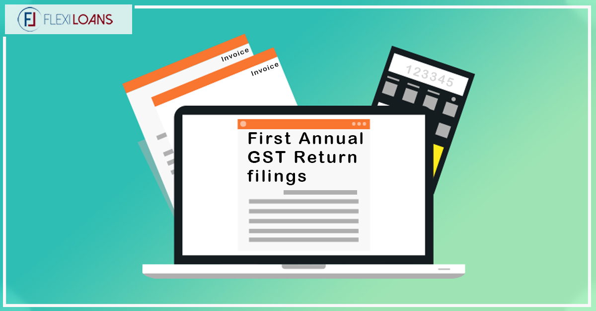 first ever annual gst return filings