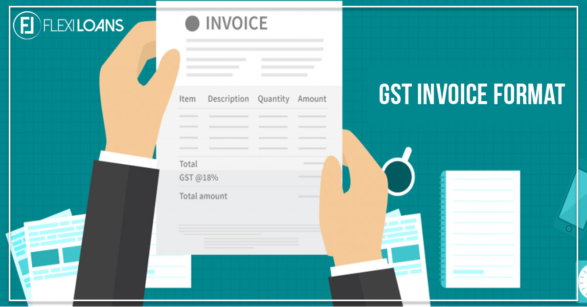 gst invoice format