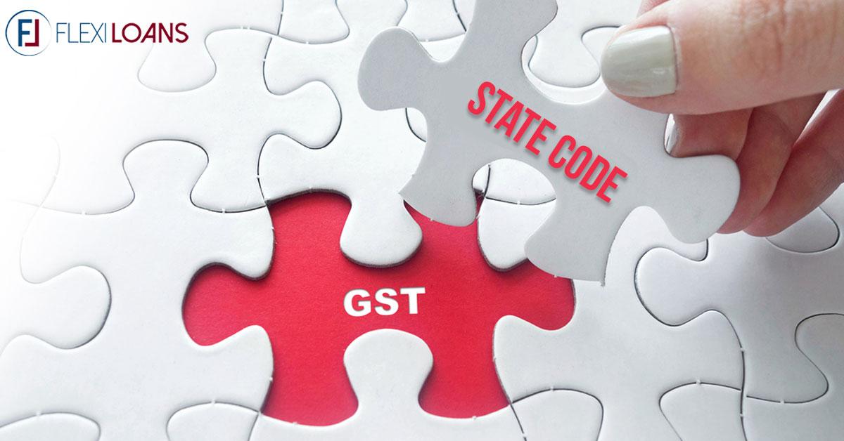 gst state code