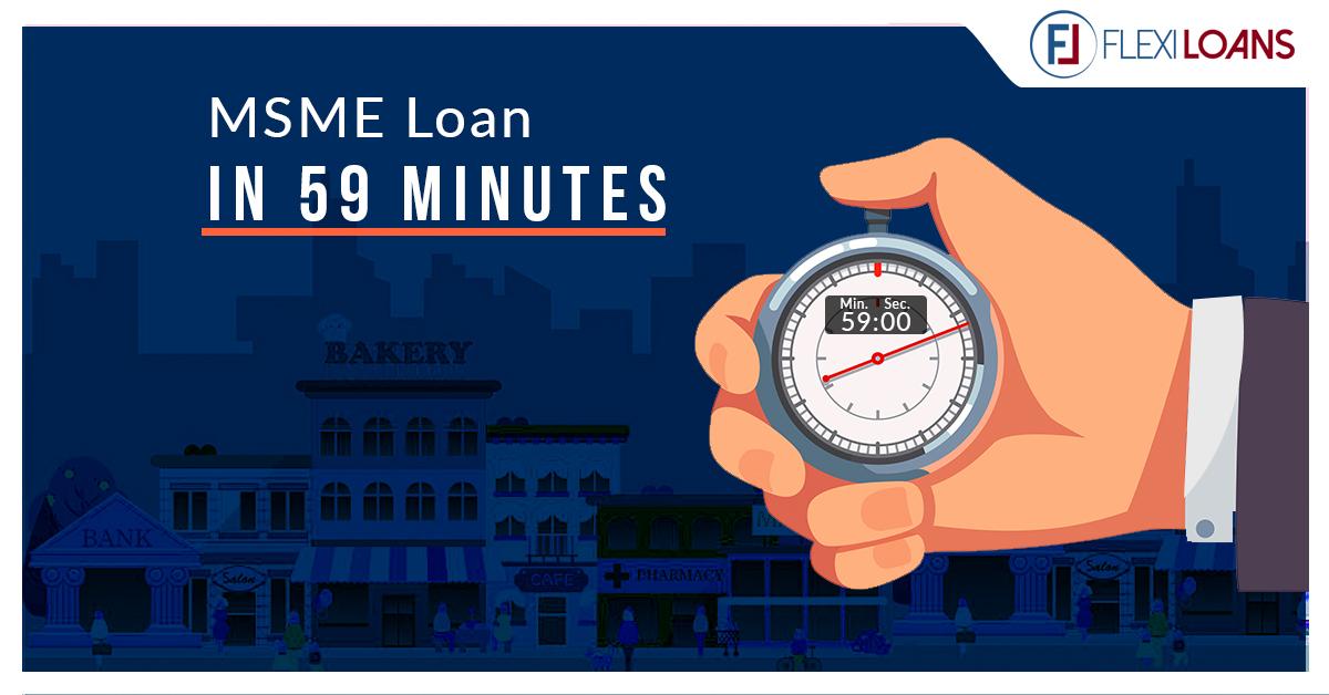 msme loan in 59 minutes